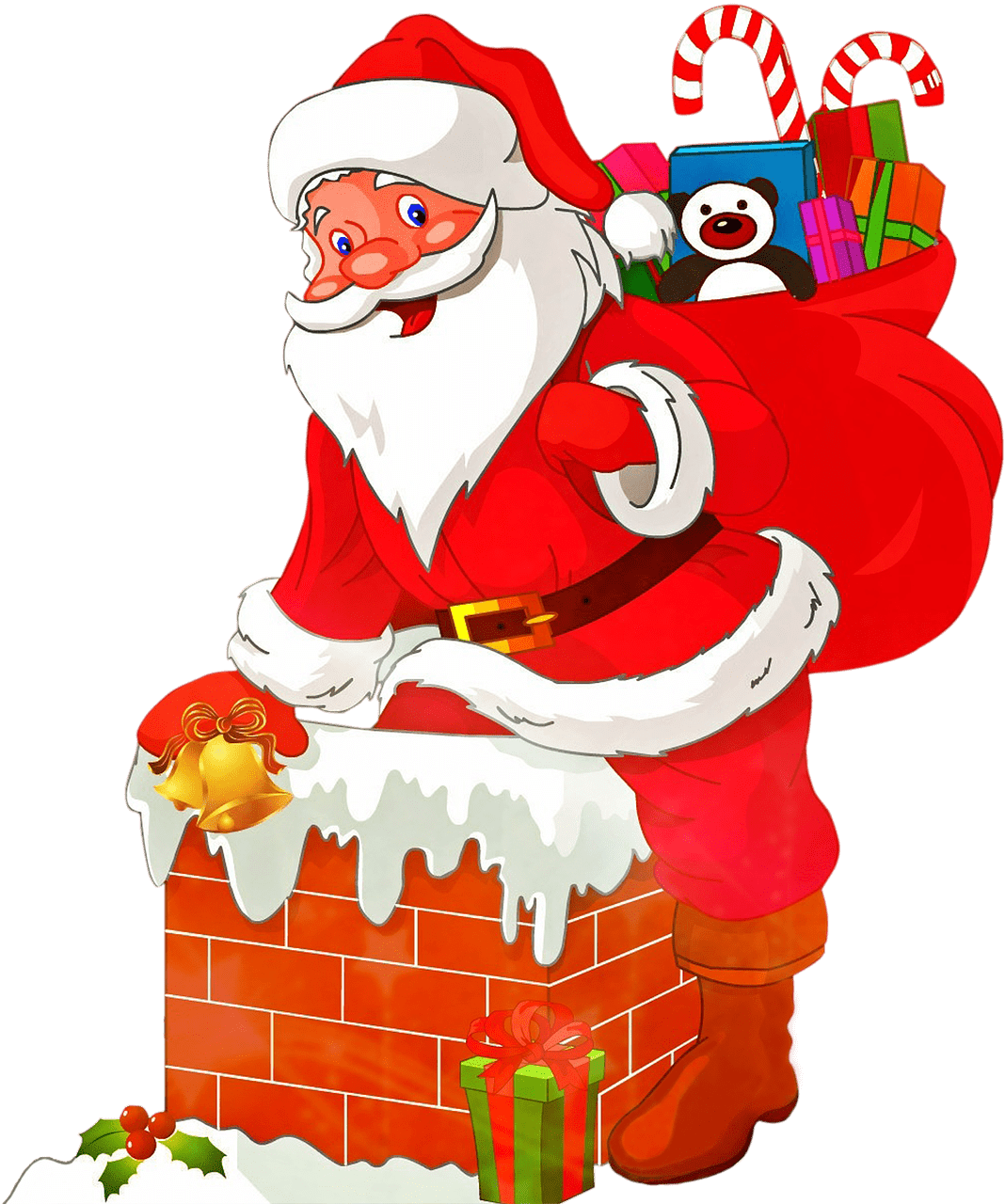 santa claus wallpaper 2