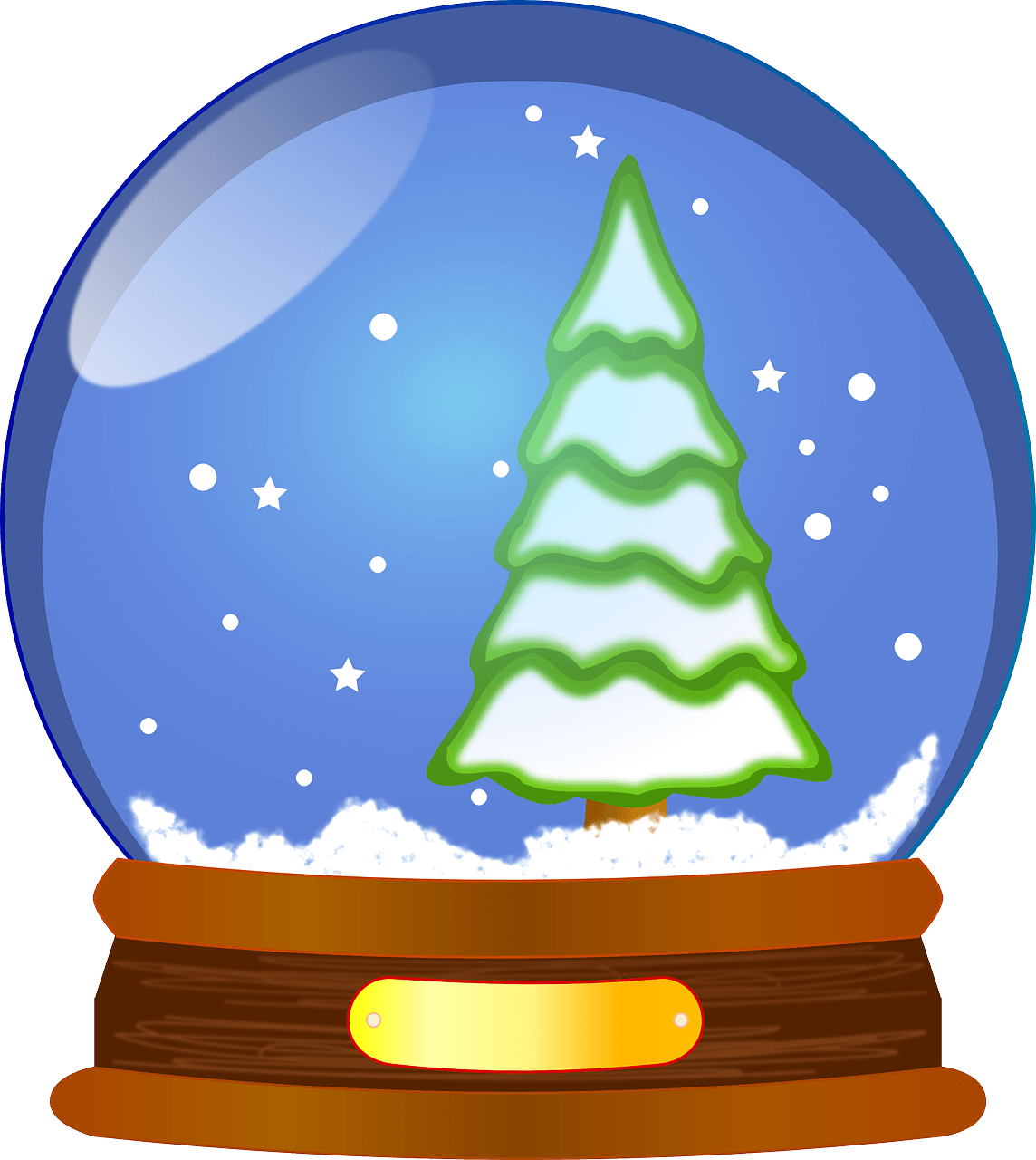 Snow Globe Wallpaper