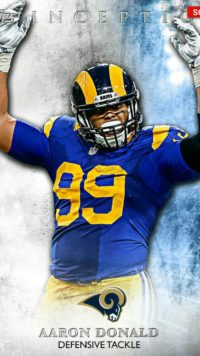 Aaron Donald Wallpaper for iPhone
