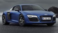 Audi Blue Coupe Wallpaper
