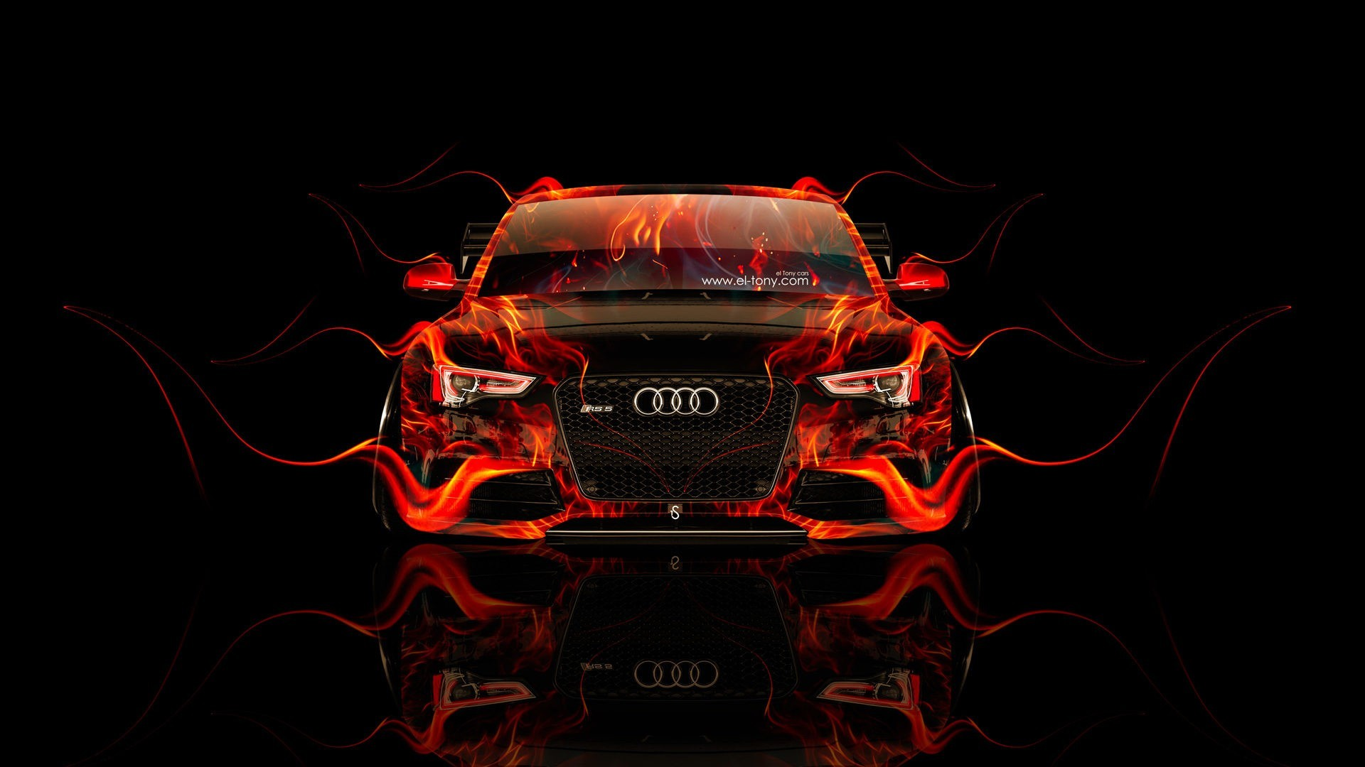 Audi Flame Wallpaper