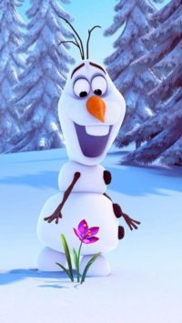 Olaf Life Wallpaper for iPhone
