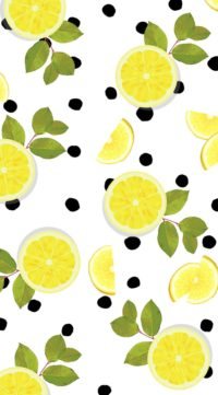 Sliced Lemon Wallpaper