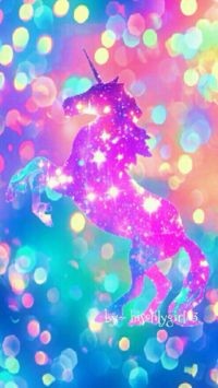 Colorful Unicorn Wallpaper
