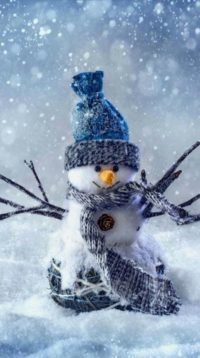 Snowman HD Wallpaper Iphone
