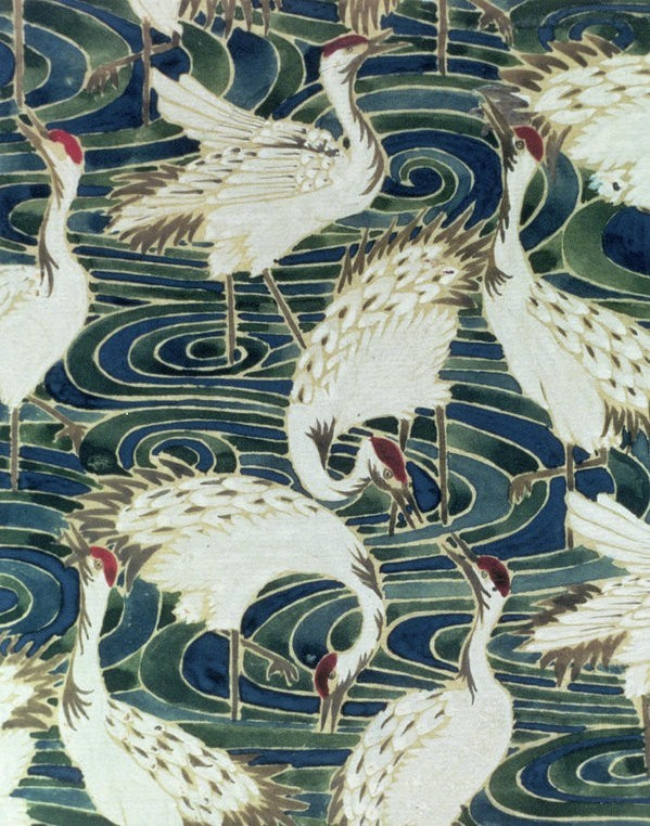 Vintage Bird Wallpaper