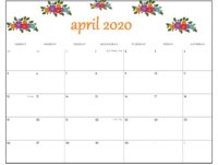 April 2020 Calendar Wallpaper Kolpaper Awesome Free Hd Wallpapers