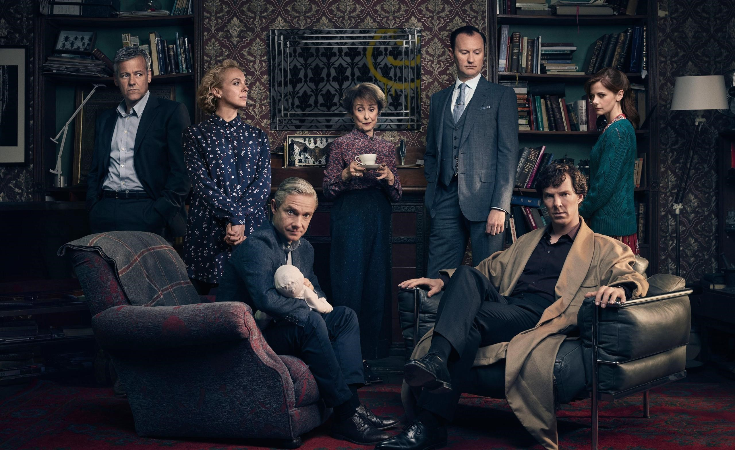 25+ Sherlock Holmes Wallpapers  Images