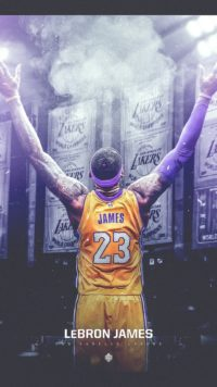 Lebron James LA Wallpaper