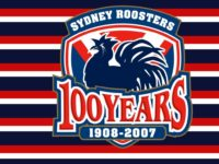 Sydney Roosters 100 Years Wallpaper