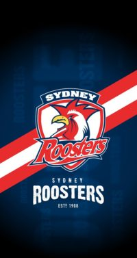 Sydney Roosters Iphone Wallpaper