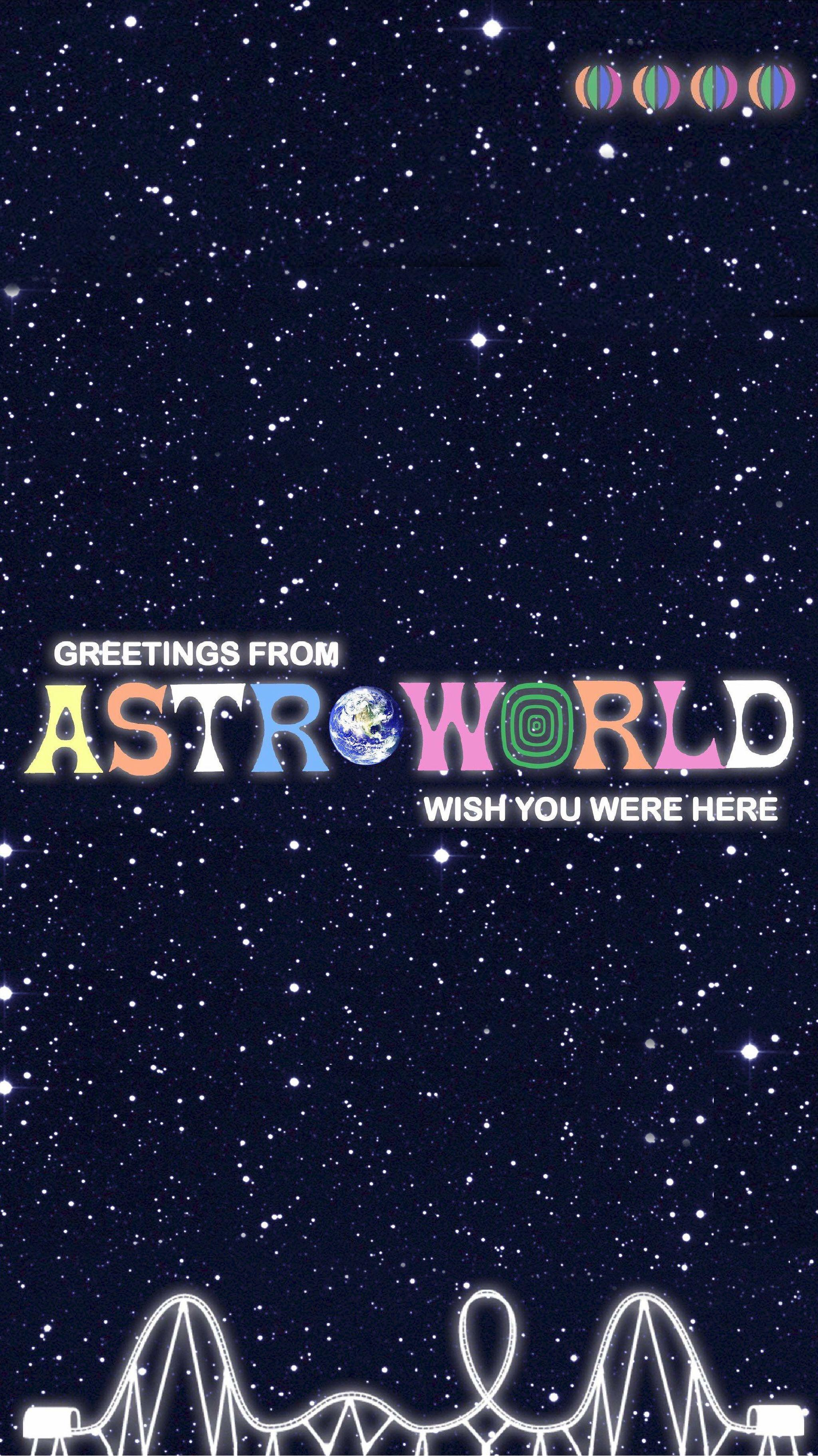 Astro World Iphone Wallpaper Kolpaper Awesome Free Hd Wallpapers