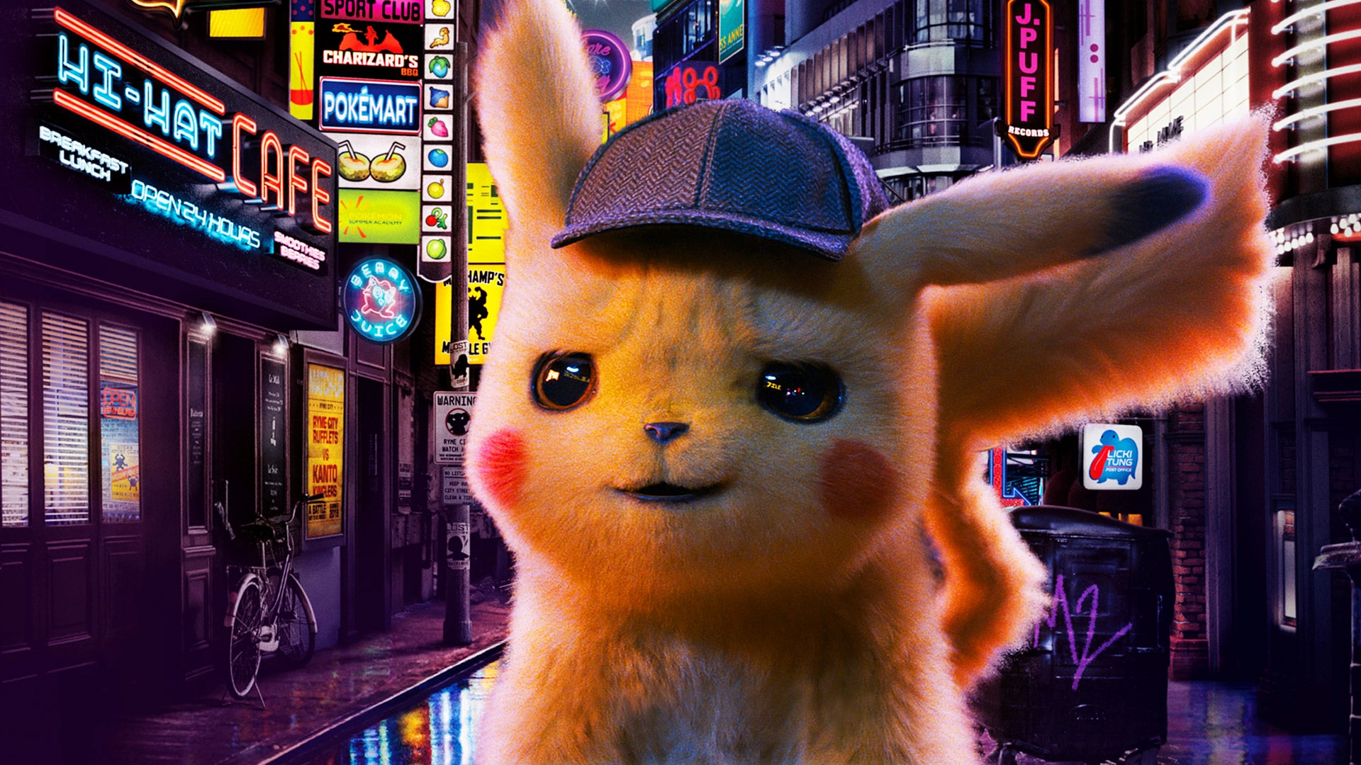 Detective Pikachu Hd Wallpaper Kolpaper Awesome Free Hd Wallpapers
