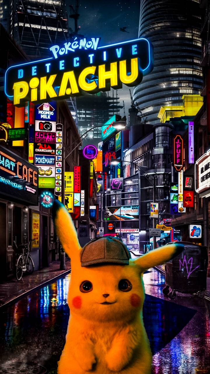 Detective Pikachu Wallpaper Kolpaper Awesome Free Hd Wallpapers