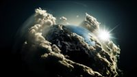 Earth Cloud Wallpaper