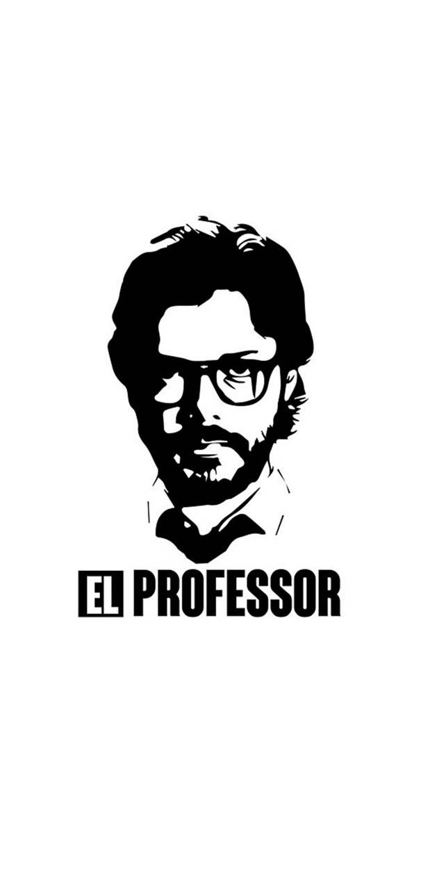 El Professor Money Heist Wallpaper