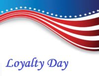 Loyalty Day Background