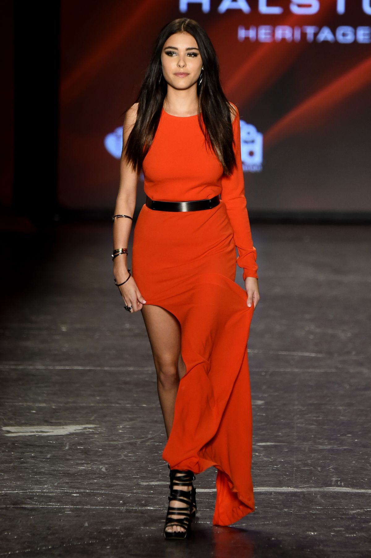 Madison Beer at Fashion Show