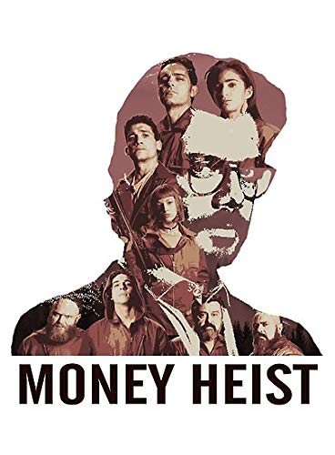 Money Heist Characters Wallpaper