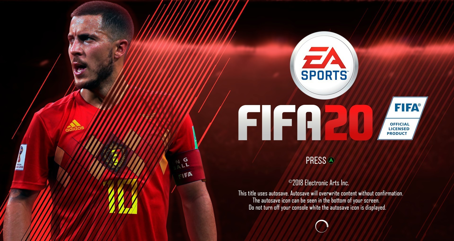 Eden Hazard FIFA 20 Wallpaper