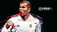 FIFA 20 Zidane Wallpaper