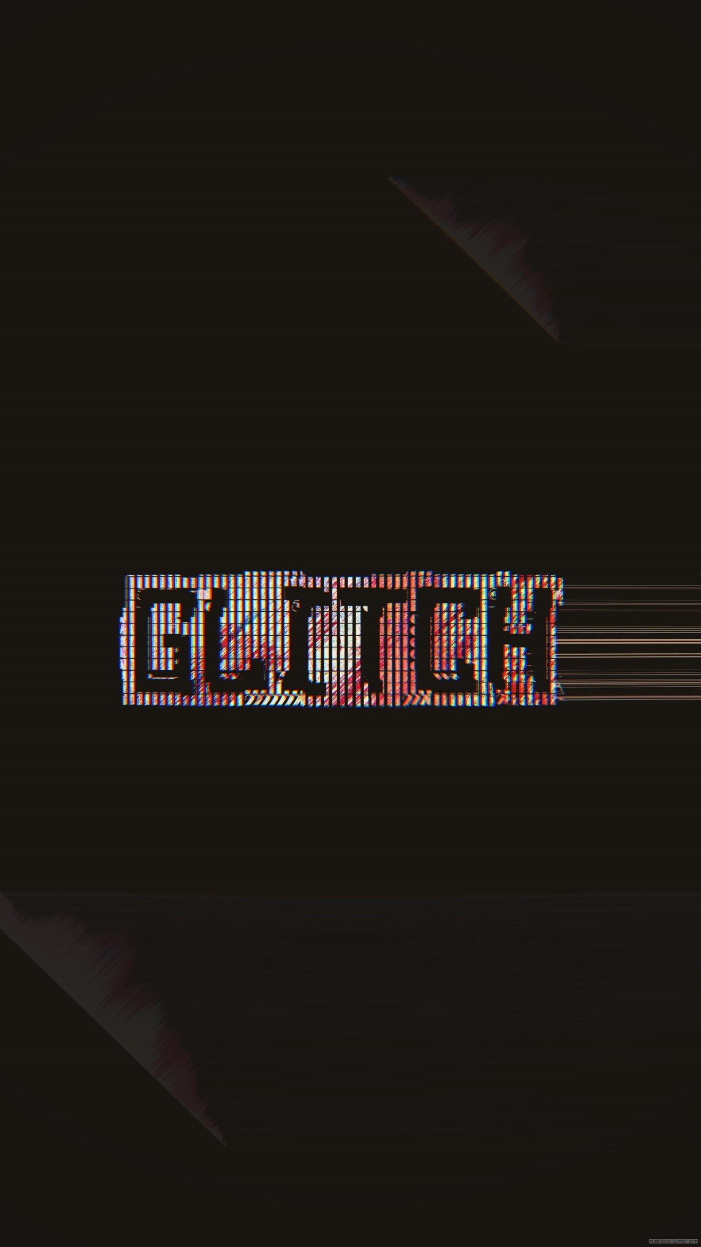 glitch wallpaper real me scaled