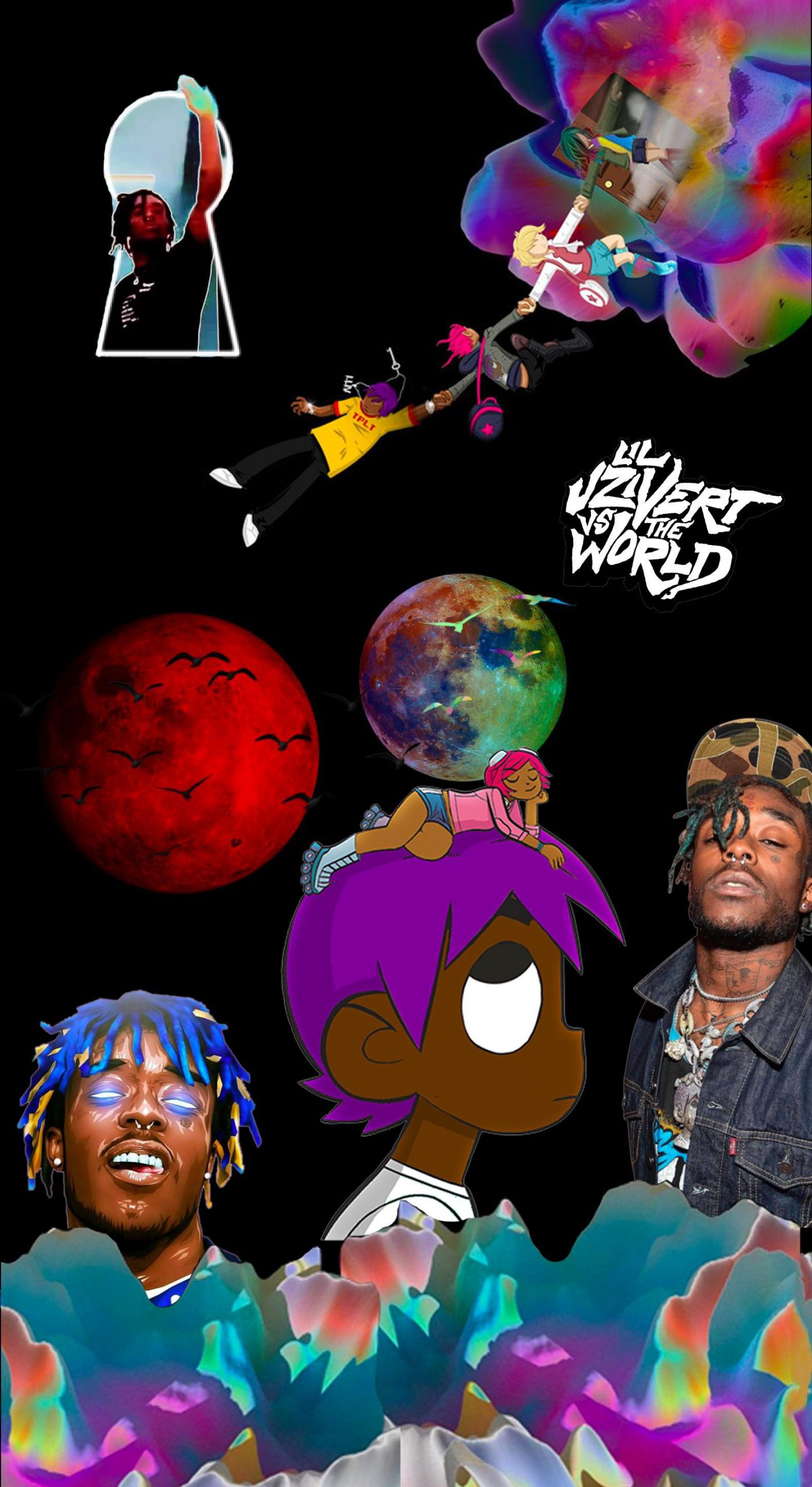 Luv Vs The World Iphone Wallpaper Kolpaper Awesome Free Hd Wallpapers Check out this fantastic collection of lil uzi vert wallpapers, with 36 lil uzi vert background images for your desktop, phone or tablet. luv vs the world iphone wallpaper