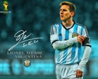 Messi World Cup Wallpaper