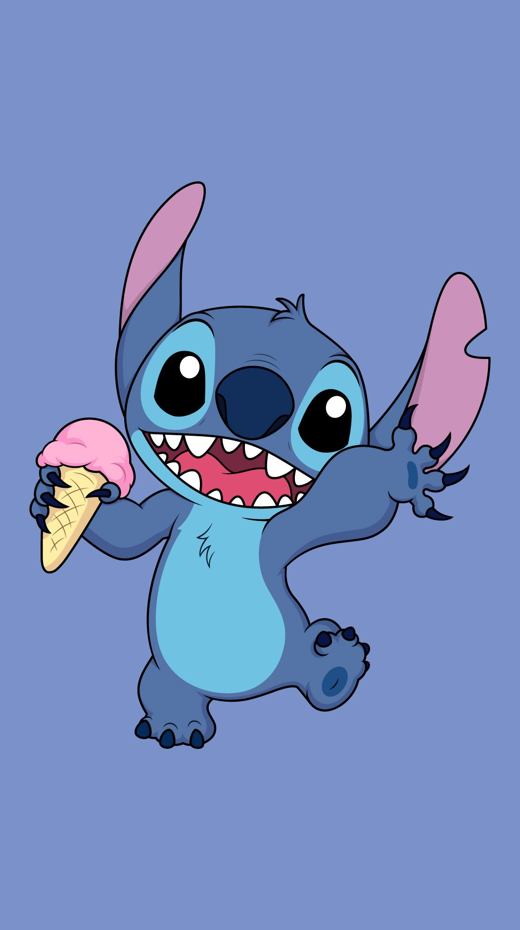 Stitch Ice Cream Wallpaper Kolpaper Awesome Free Hd Wallpapers