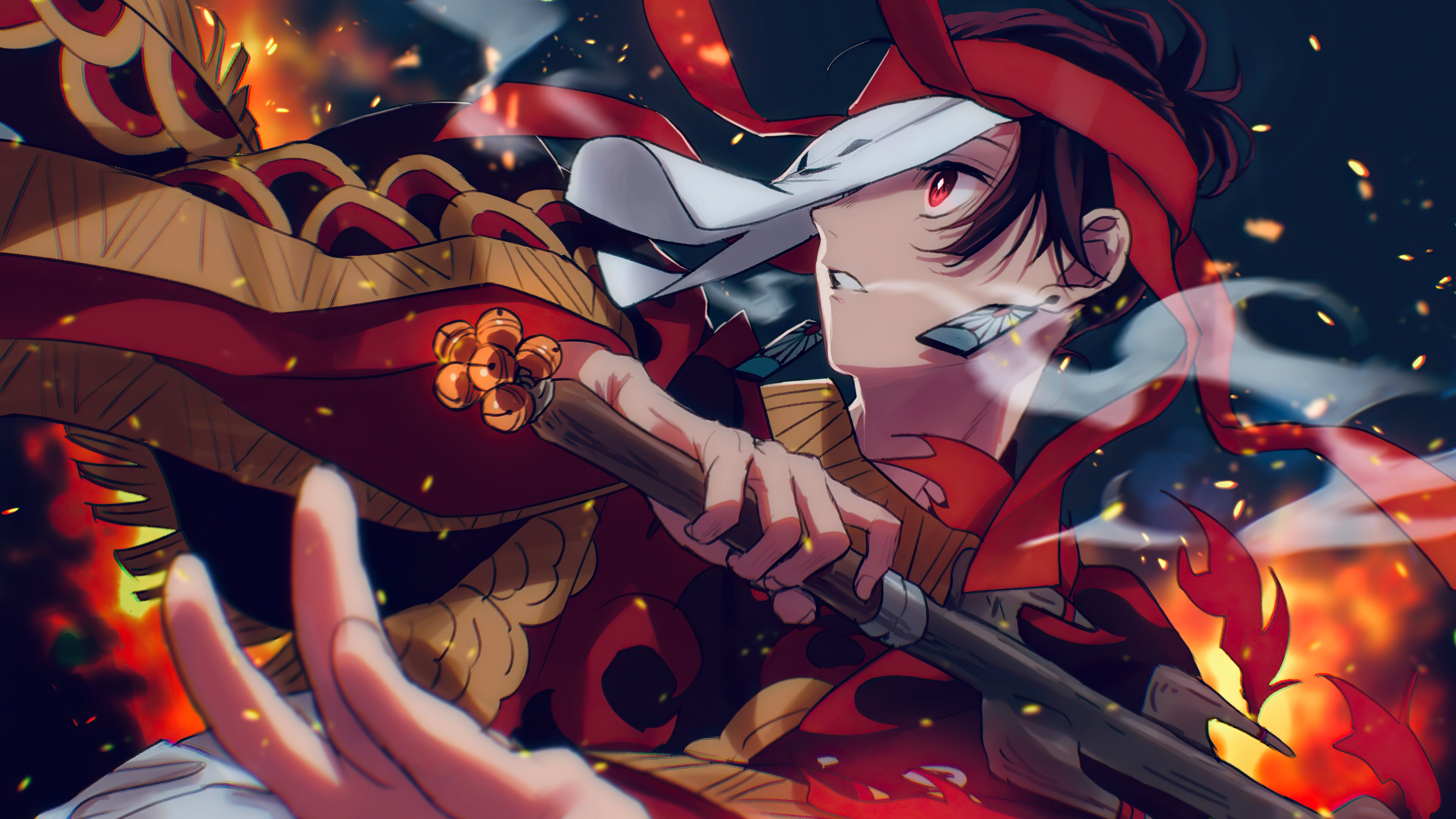 4k Demon Slayer Wallpaper Kolpaper Awesome Free Hd Wallpapers