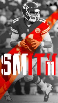 Alex Smith Iphone Wallpaper