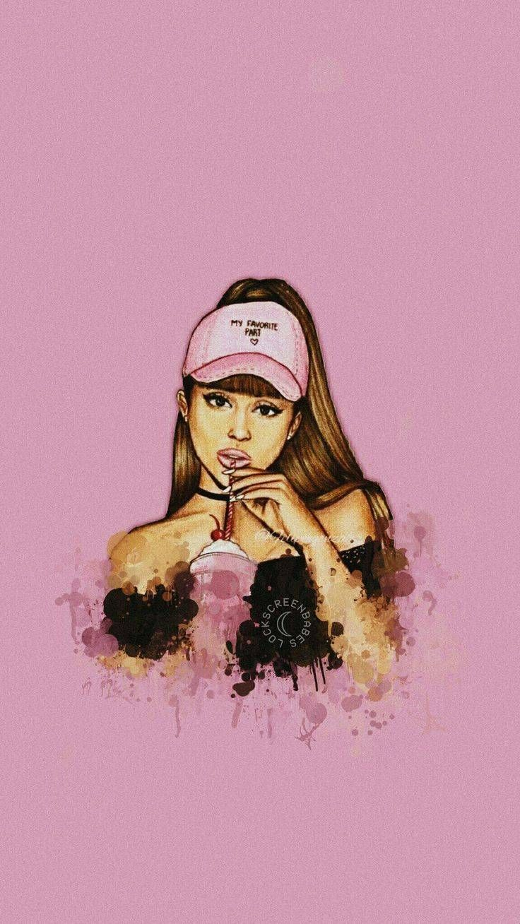 Ariana Grande Art Work