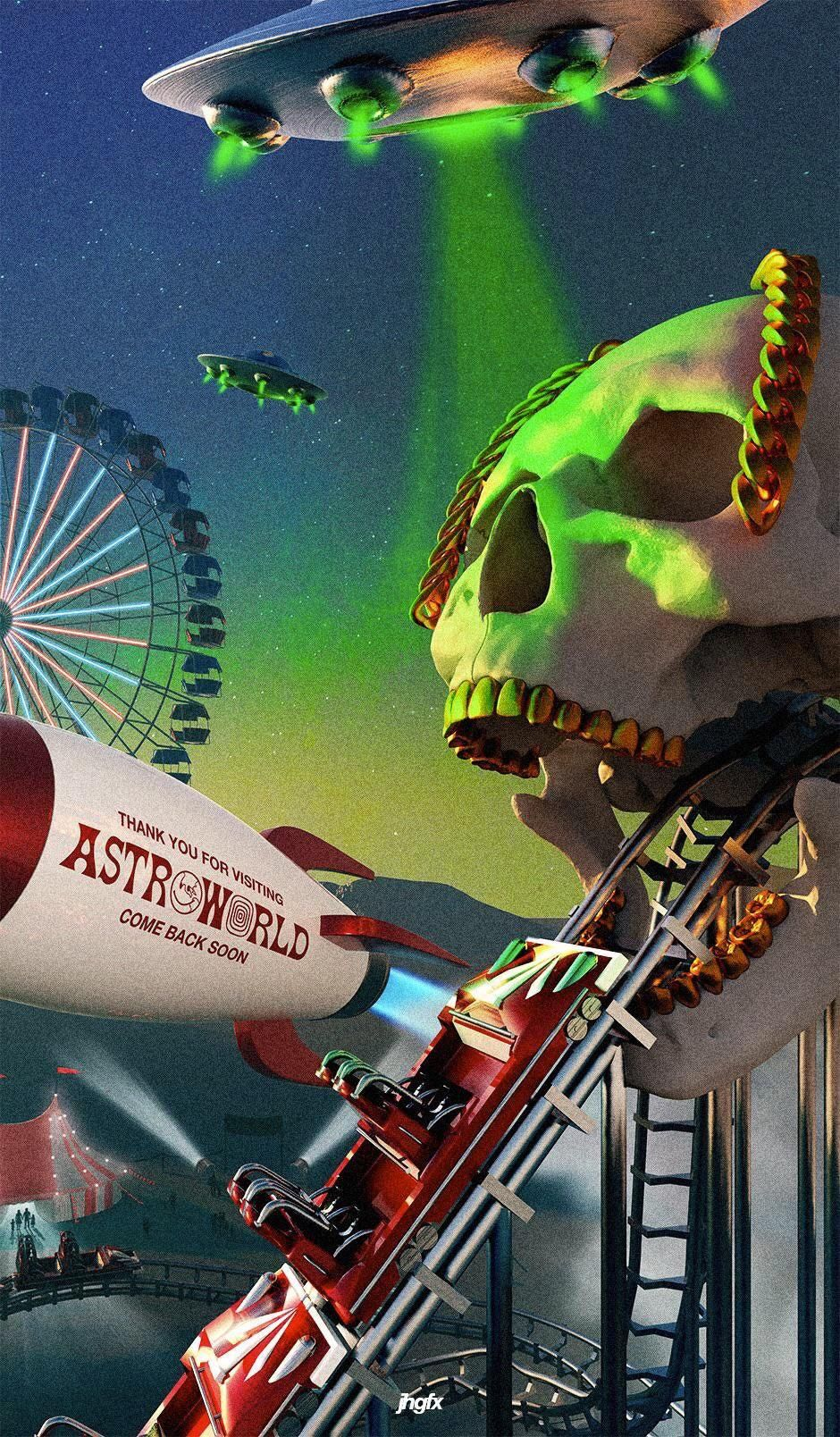 Astroworld Wallpaper Kolpaper Awesome Free Hd Wallpapers