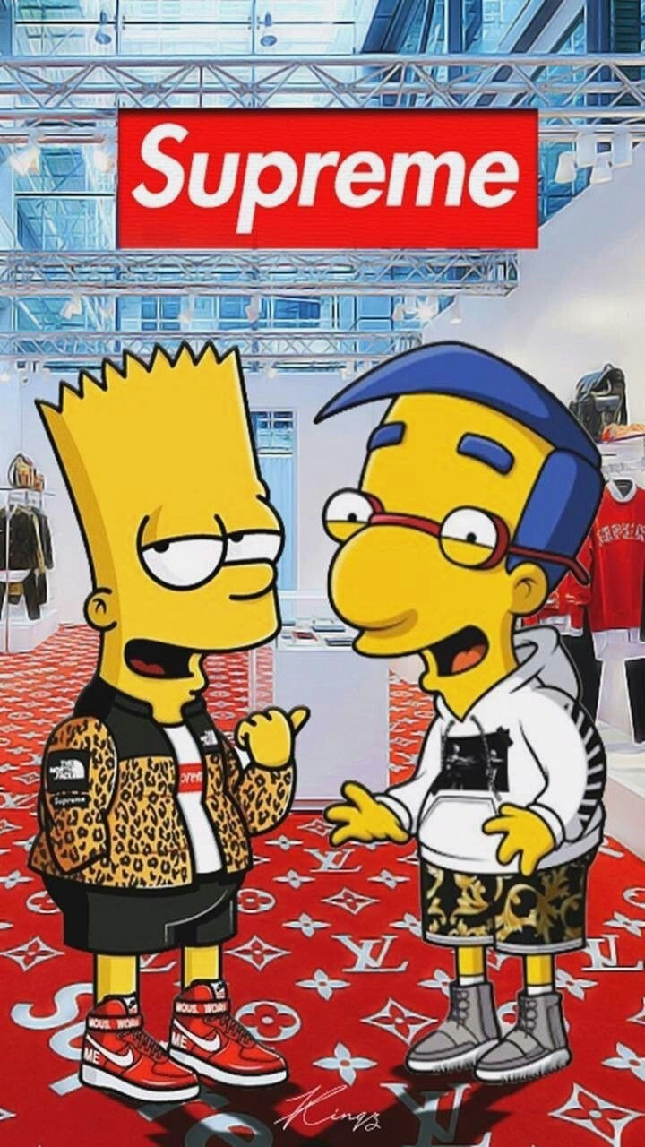 Bart Simpson Supreme Wallpaper