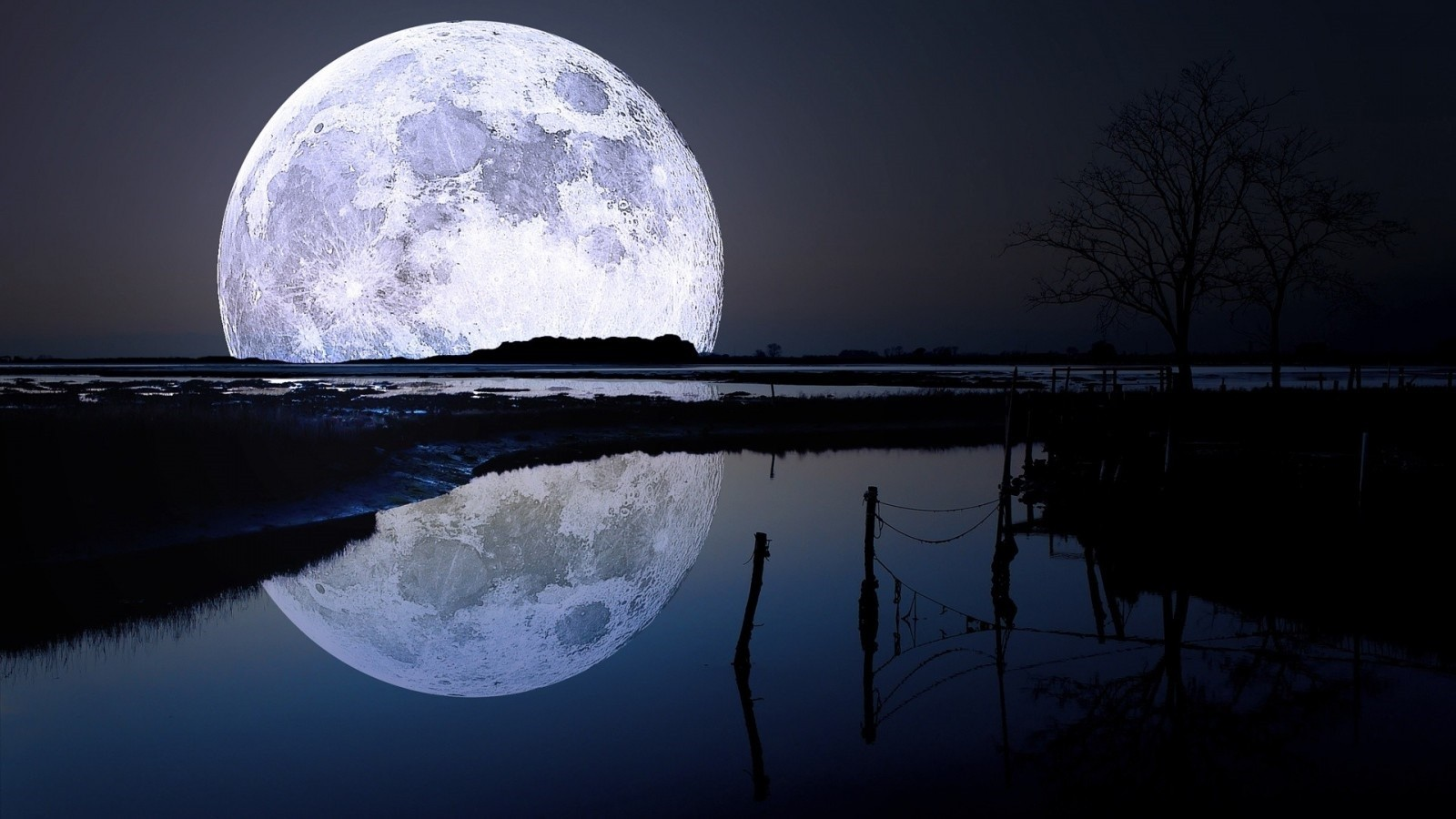 Best Full Moon Wallpaper Kolpaper Awesome Free Hd Wallpapers