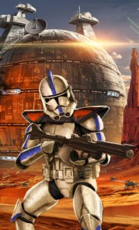 Clone Trooper Iphone Wallpaper