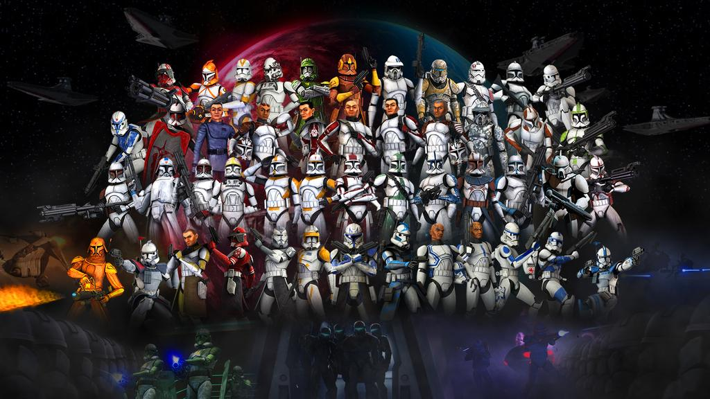 Clone Troopers Wallpaper