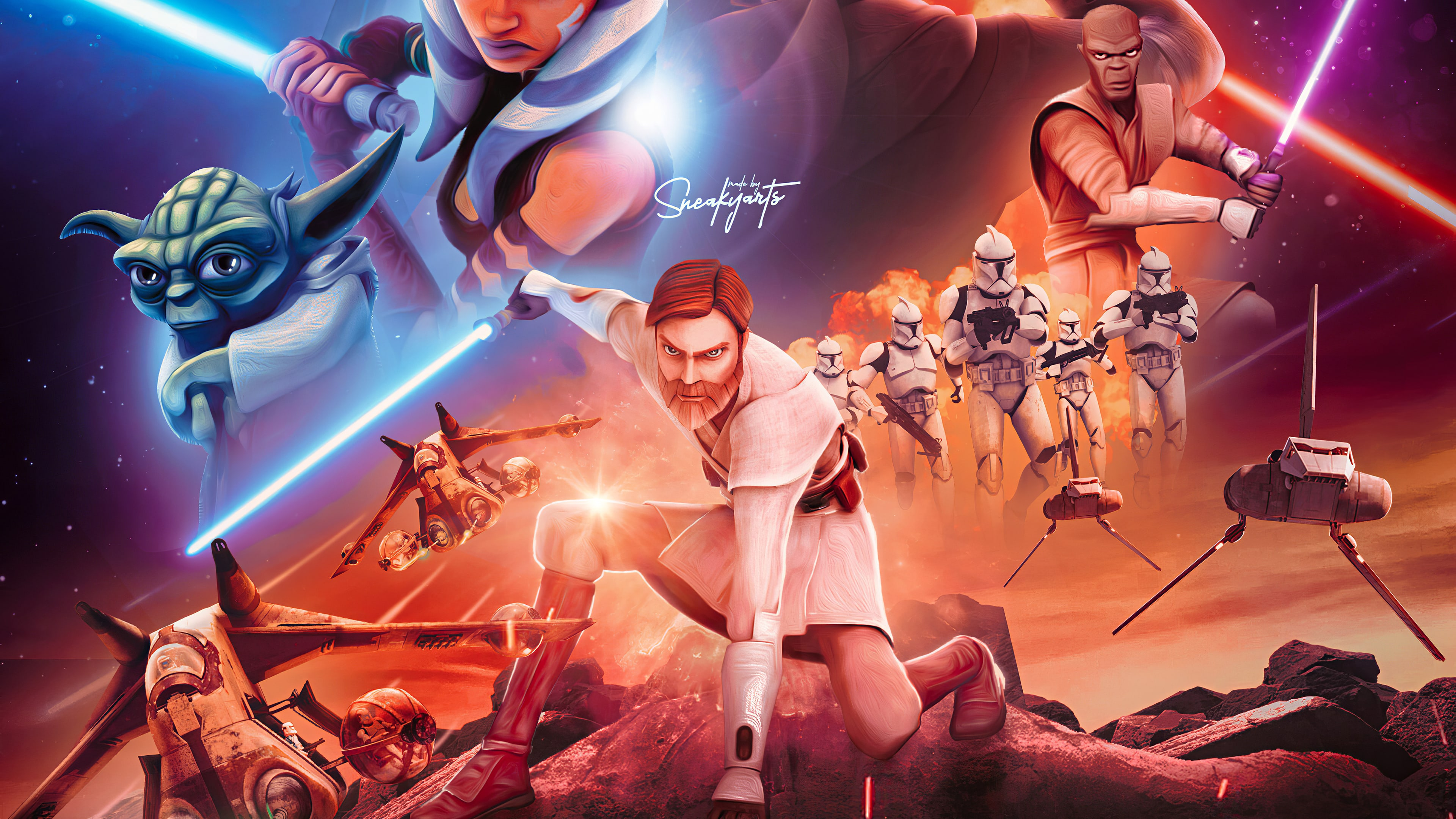 Clone Wars Wallpaper 2