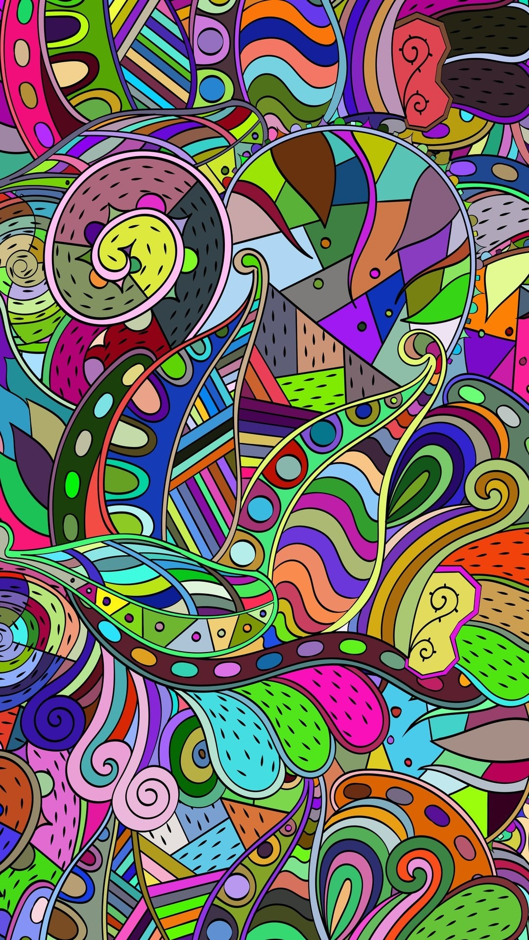 Colorful Doodle Wallpaper - KoLPaPer - Awesome Free HD Wallpapers