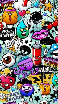 Doodle Graffiti Wallpaper