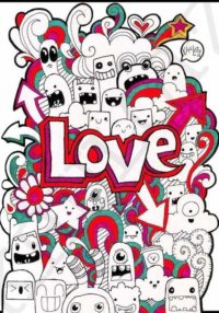 Doodle Love Wallpaper Iphone
