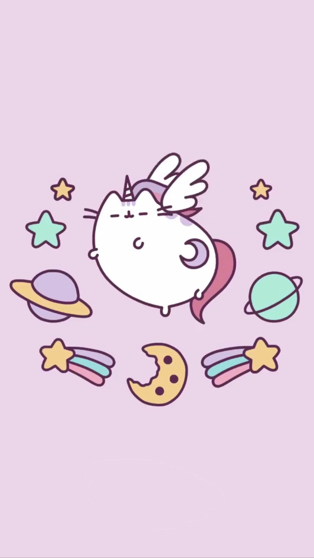 Galaxy Pusheen Wallpaper