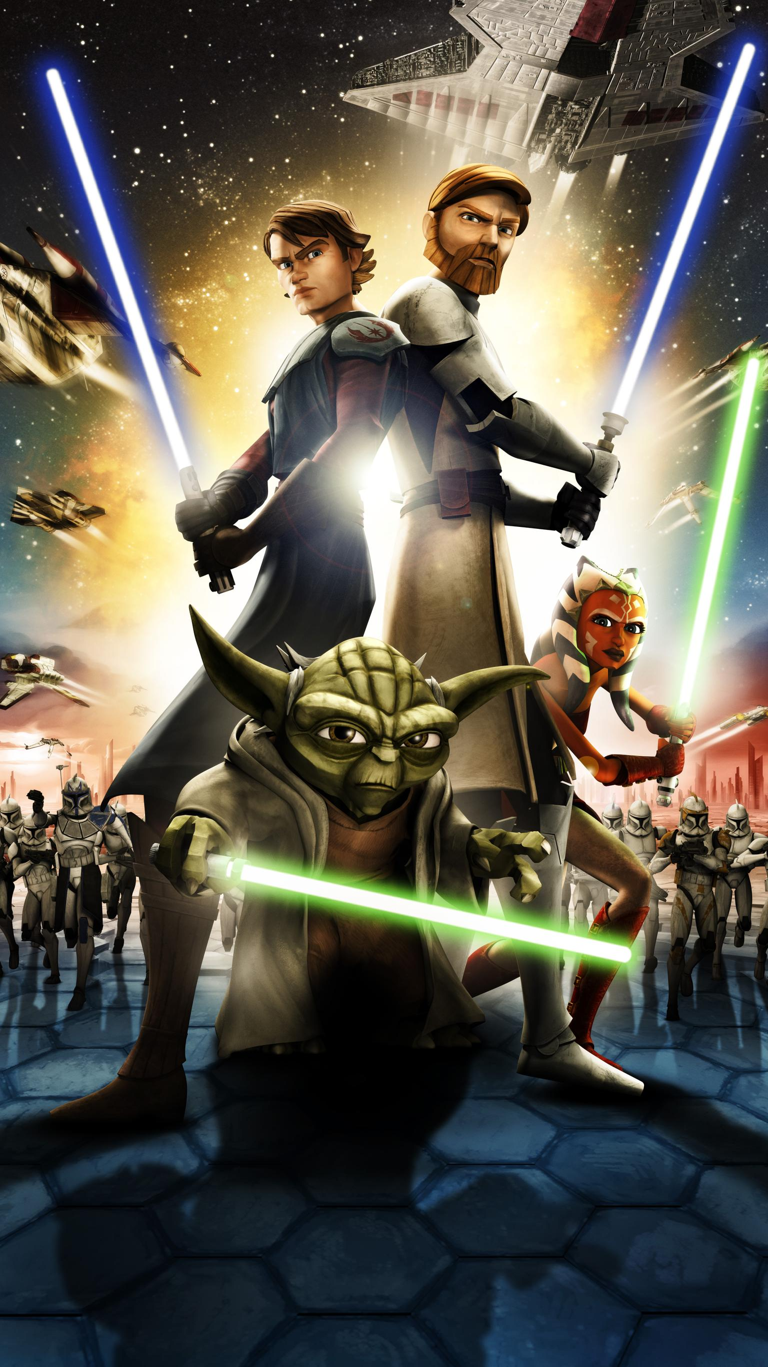 Iphone Star Wars Clone Wars Wallpaper