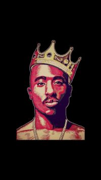 King of Rap 2Pac Wallpaper