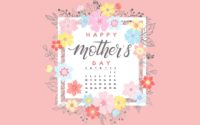 May Mothers Day Calendar