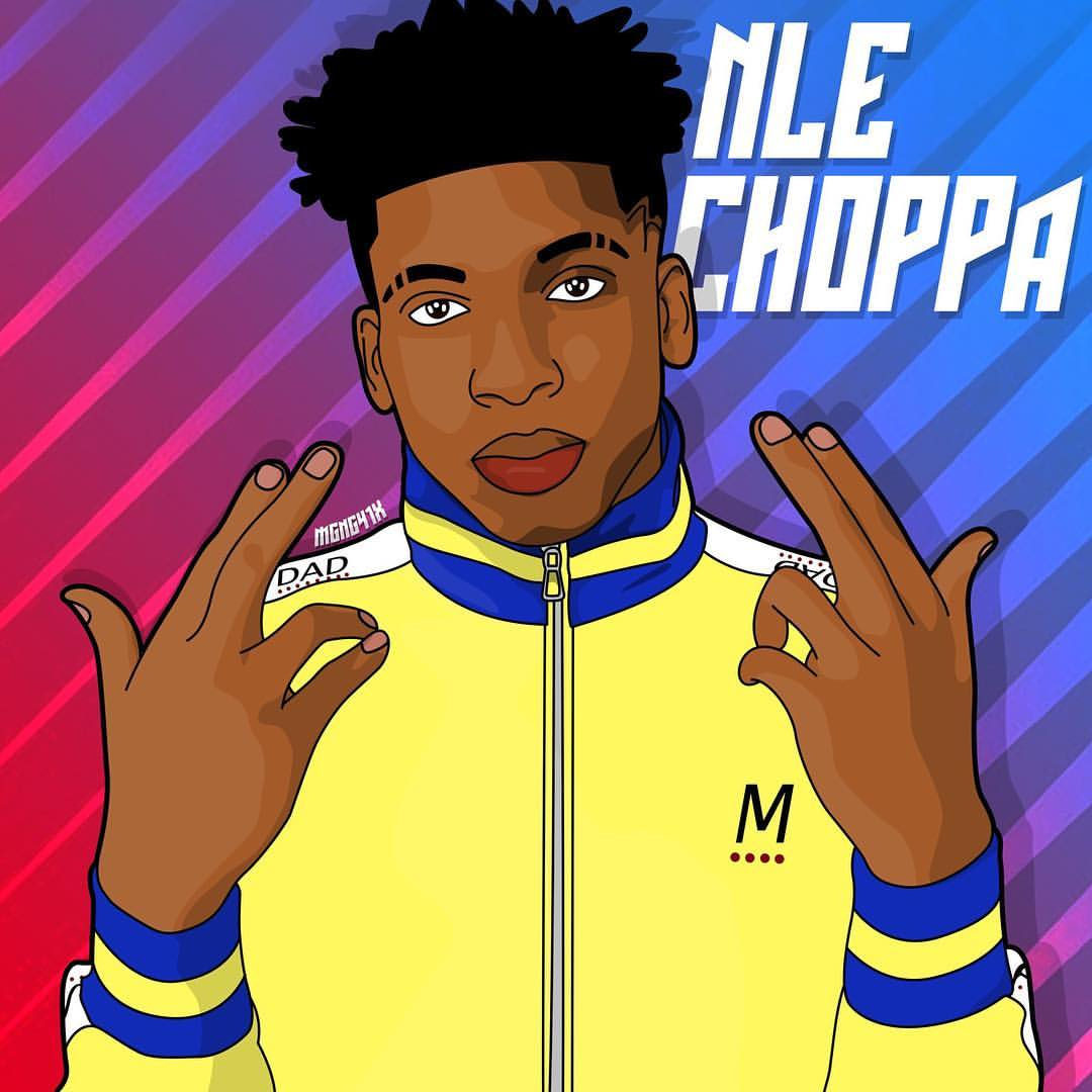 NLE Choppa Background 2