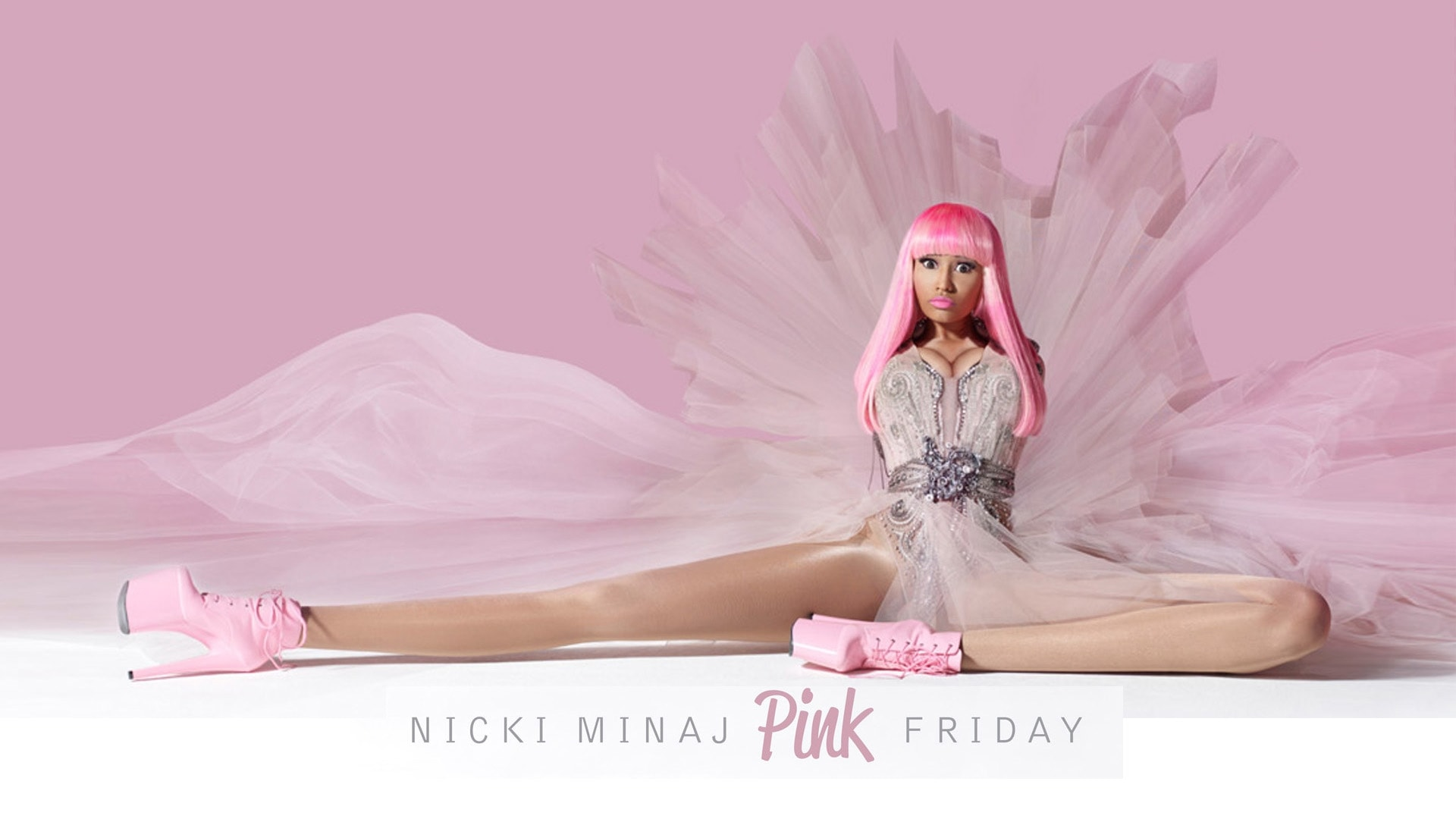 Nicki Minaj Pink Wallpaper