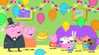 Peppa Pig Birthday Wallpaper