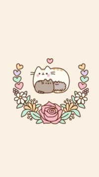 Pusheen Family Wallpaper