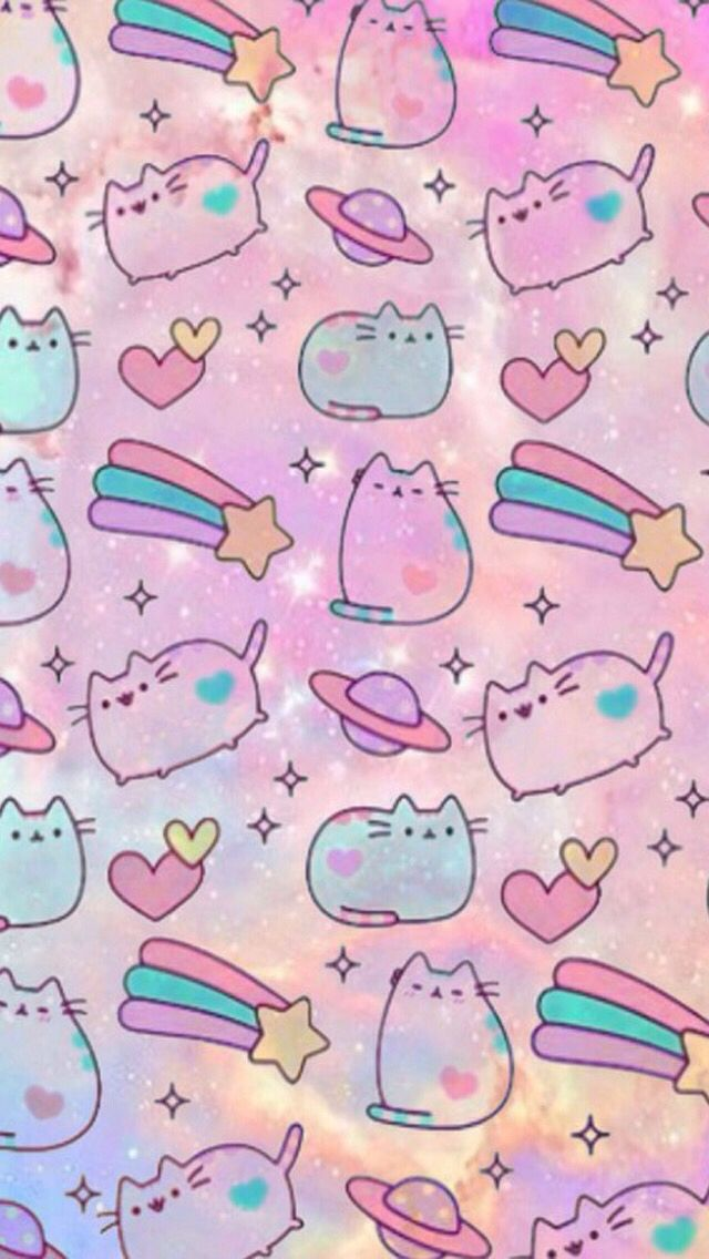 Pusheen Galaxy Wallpaper 2